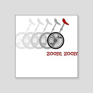 Uni Zoom Square Sticker
