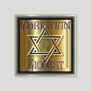 Christian Zionist 2 Square Sticker