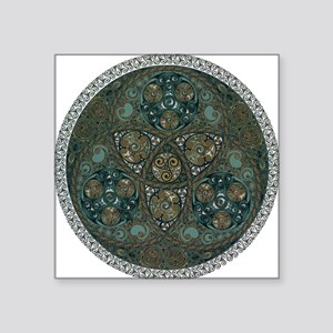 Celtic Trefoil Circle Square Sticker