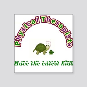 Physical Therapist Square Sticker