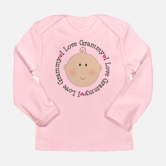 I Love Grammy Long Sleeve Infant T-Shirt