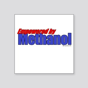 Empowered by Methanol Square Sticker