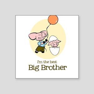 Best Big Brother - Square Sticker