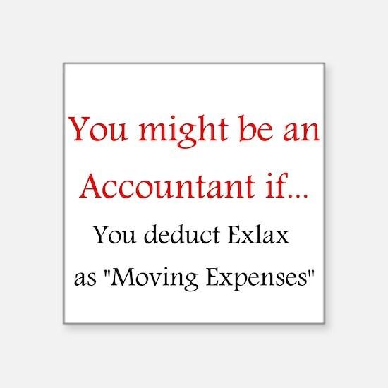Accountant Square Sticker