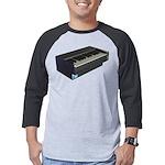 Console Piano Men's Baseball Shirt