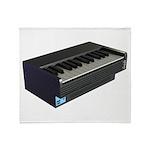 Console Piano Plush Fleece Throw Blanket
