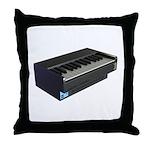 Console Piano Throw Pillow