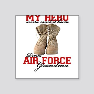 Combat boots: USAF Grandma Square Sticker