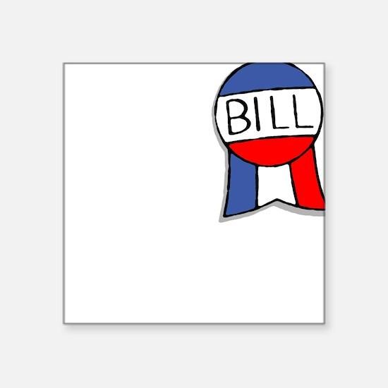Capitol Hill Bill Square Sticker