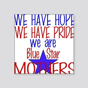 BLUE STAR MOTHERS Square Sticker