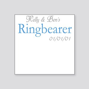 Custom Ringbearer Square Sticker