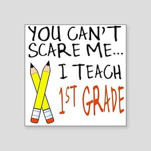 1st Grade Teacher Square Sticker