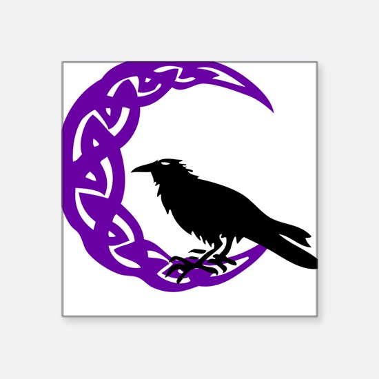 MoonCrow Square Sticker