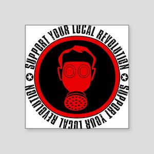 Local Revolution Square Sticker