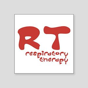 Respiratory Therapy - Athleti Square Sticker
