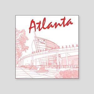 Atlanta Square Sticker
