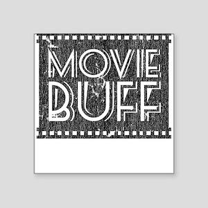 Movie Buff Square Sticker