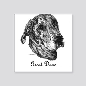 Merle Dane Square Sticker