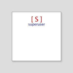 superuser2 Square Sticker