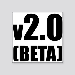 v2.0 Beta Creeper Square Sticker