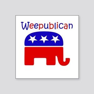 WeePublican Square Sticker