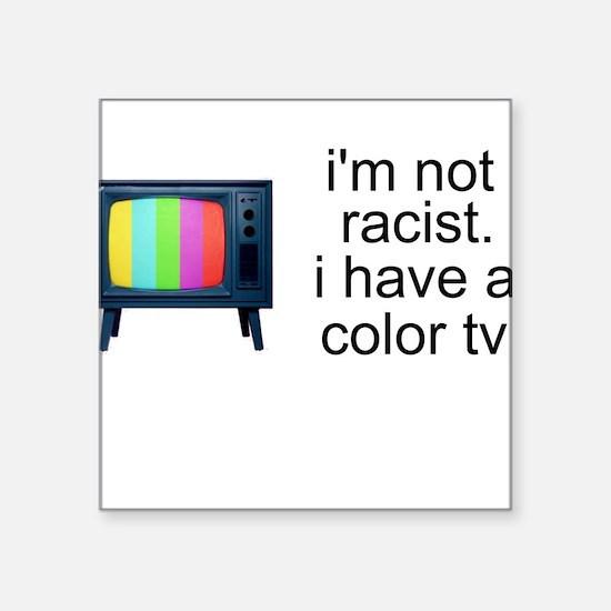 Politically Correct Square Sticker