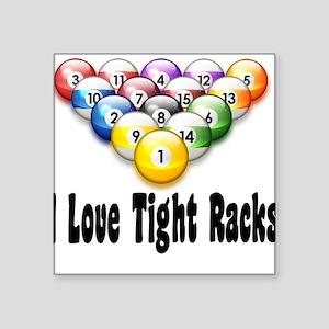 TIGHT RACKS Square Sticker