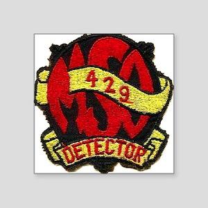 USS DETECTOR Square Sticker