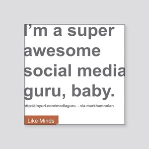 Like Minds Official 'Guru' Square Sticker