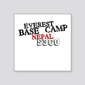Everest Base Camp Square Sticker