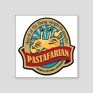 Pastafarian Seal Square Sticker