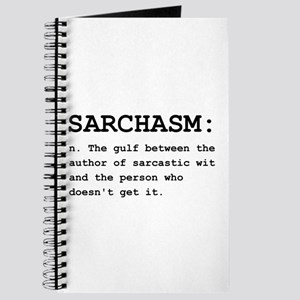 Sarchasm Definition Black Journal