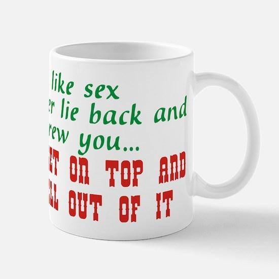 life is like sex.png Mug