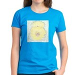 Yellow Barrel Cactus Flowers Women's Dark T-Shirt