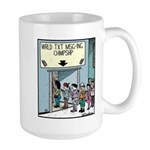 Wrld Txt Msg-ing Chmpshp Large Mug