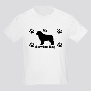 My Newfoundland Service Dog Kids Light T-Shirt