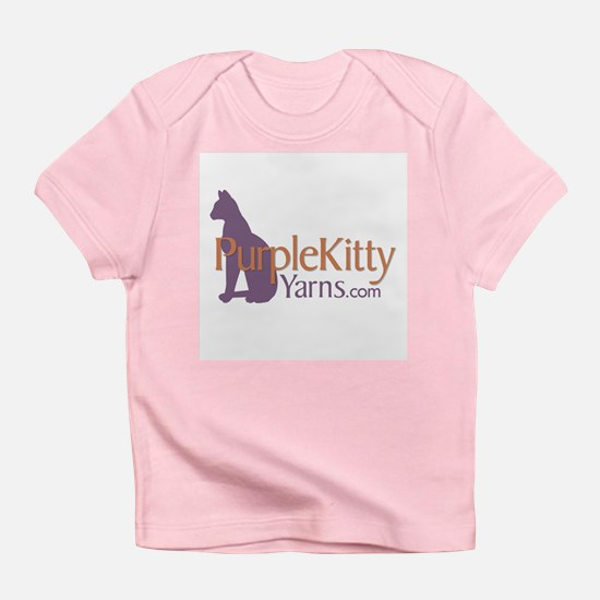 Purple Kitty Infant T-Shirt