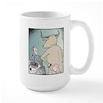 Angry Bull Large Mug