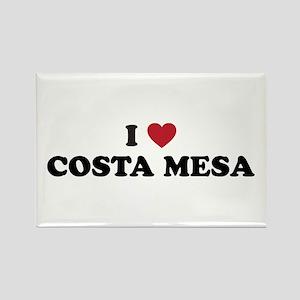 I Love Costa Mesa Rectangle Magnet