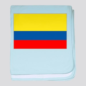 Colombian Flag 4 baby blanket