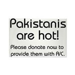 Pakistanis are hot! Rectangle Magnet