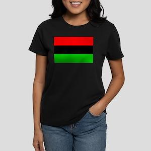 African American Flag 1 Women's Dark T-Shirt