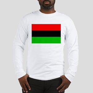 African American Flag 1 Long Sleeve T-Shirt