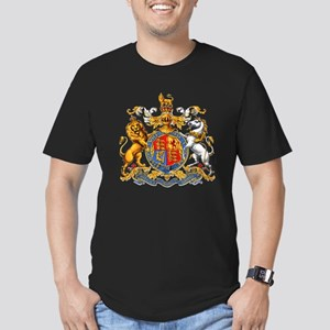 Royal Coat Of Arms Men's Fitted T-Shirt (dark)