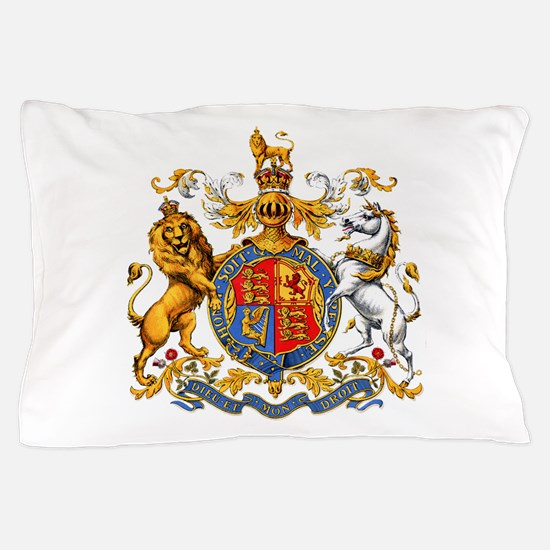 Royal Coat Of Arms Pillow Case