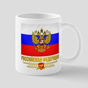 Russian Flag COA Mug