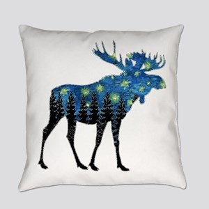 NORTHWOODS SUMMER NIGHT Everyday Pillow