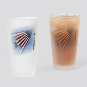 F117 Stars and Strips Drinking Glass