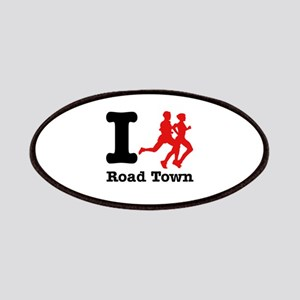 I Run Road Town Patches