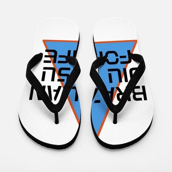 BJJ FOR LIFE Flip Flops